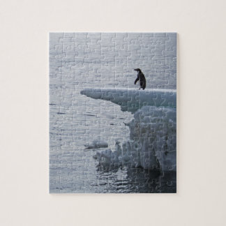 Adelie penguin at Brown Bluff Jigsaw Puzzle