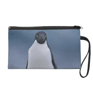 Adelie Penguin on Ice Wristlet Purse
