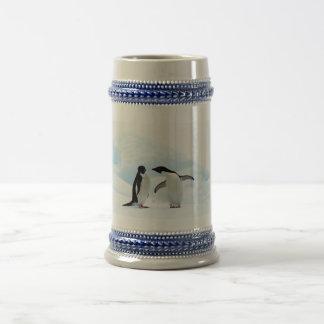 Adelie Penguins Beer Stein