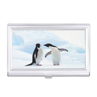 Adelie Penguins Business Card Holder