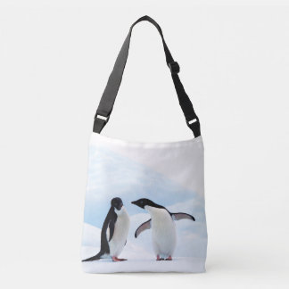 Adelie Penguins Crossbody Bag