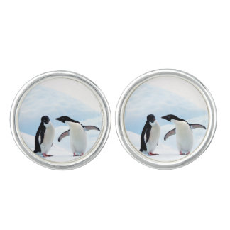 Adelie Penguins Cufflinks