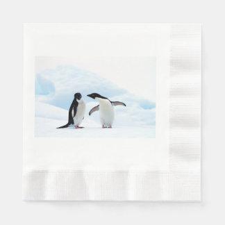 Adelie Penguins Disposable Napkins
