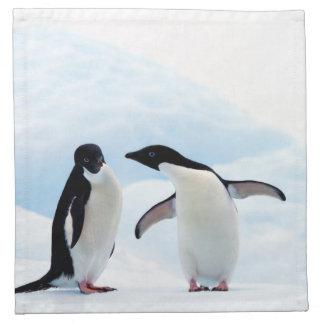 Adelie Penguins Napkin