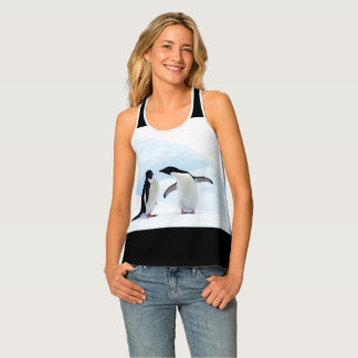 Adelie Penguins Tank Top