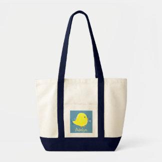 Adelyn Baby Chick Tote Bag / Diaper Bag