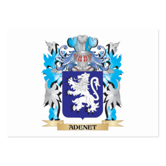 Adenet Coat Of Arms Business Card