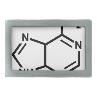 Adenine Rectangular Belt Buckles
