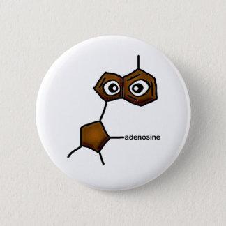 Adenosine Neurotransmitter 2 Inch Round Button
