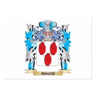 Adger Coat Of Arms Business Cards