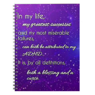 ADHD - Blessing or Curse? Notebook