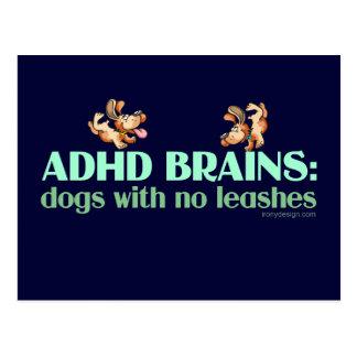 ADHD BRAINS POSTCARD