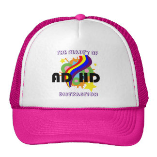 ADHD Distraction Trucker Hat