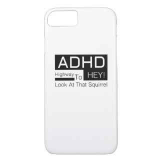 ADHD Highway To Hey Look Men's  adhd awareness iPhone 8/7 Case