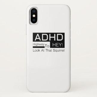 ADHD Highway To Hey Look Men's  adhd awareness iPhone X Case