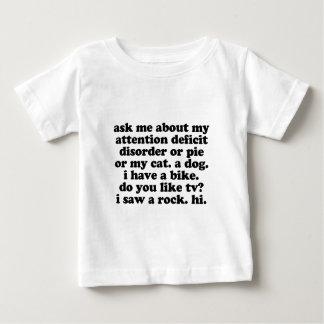 ADHD Humor - Funny ADHD Saying / Quote Baby T-Shirt