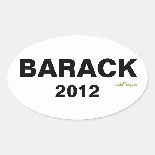 Adhésif pour pare-chocs 2012 de BARACK (blanc)