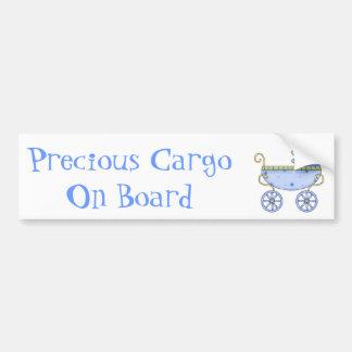 Adhésif pour pare-chocs bleu doux de bébé de voitu adhésif pour voiture