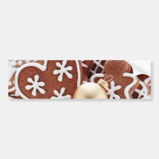 Adhésif pour pare-chocs de biscuit de Noël Autocollant De Voiture