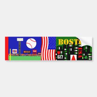 Adhésif pour pare-chocs de Boston pour le cadeau d Autocollant De Voiture