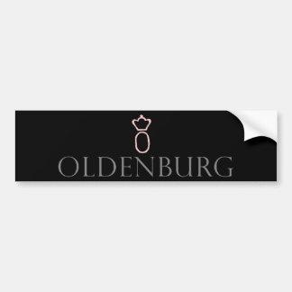 Adhésif pour pare-chocs de cheval d'Oldenbourg Autocollant De Voiture
