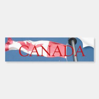 Adhésif pour pare-chocs de drapeau du Canada Autocollant De Voiture