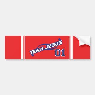 Adhésif pour pare-chocs de Jésus d'équipe Adhésif Pour Voiture
