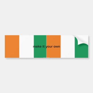 Adhésif pour pare-chocs de la Côte d'Ivoire de Cot Autocollant De Voiture