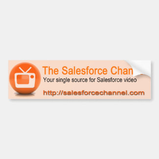 Adhésif pour pare-chocs de la Manche de Salesforce Autocollant De Voiture