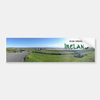 Adhésif pour pare-chocs de l'Irlande d'îles d'Aran Autocollant De Voiture