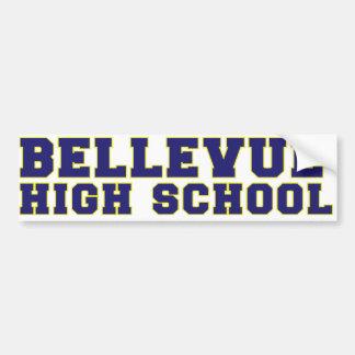 Adhésif pour pare-chocs de lycée de Bellevue Autocollant De Voiture