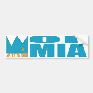 Adhésif pour pare-chocs de MIMS - roi américain de Autocollant De Voiture