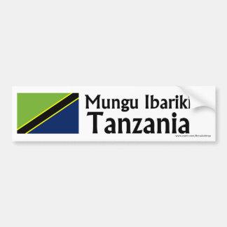 Adhésif pour pare-chocs de Mungu Ibariki (Dieu bén Autocollant De Voiture