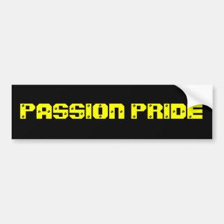 Adhésif pour pare-chocs de passion de Pittsburgh Autocollant De Voiture