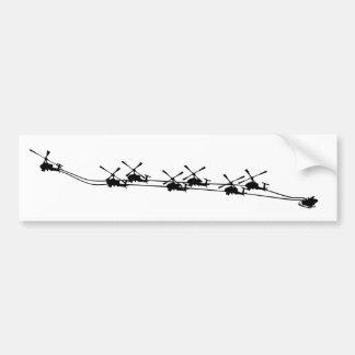 adhésif pour pare-chocs de père Noël d'opération Autocollant De Voiture