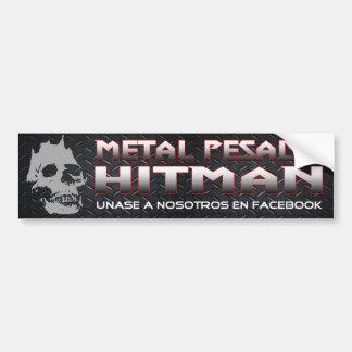 Adhésif pour pare-chocs de Pesado en métal Autocollant De Voiture