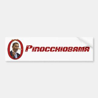 Adhésif pour pare-chocs de Pinocchiobama Autocollant De Voiture