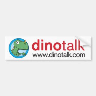 Adhésif pour pare-chocs de portail de Dino Autocollant De Voiture