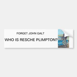 Adhésif pour pare-chocs de Resche Plimpton Autocollant De Voiture