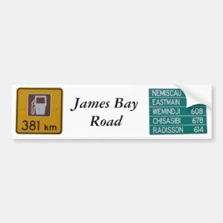 Adhésif pour pare-chocs de route de baie de James Autocollant De Voiture