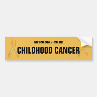 Adhésif pour pare-chocs de ruban de Cancer d enfan Adhésifs Pour Voiture