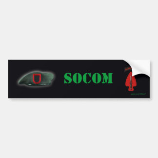 adhésif pour pare-chocs de socom de commande d'opé autocollant de voiture