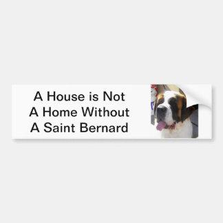 Adhésif pour pare-chocs de St Bernard Autocollant De Voiture