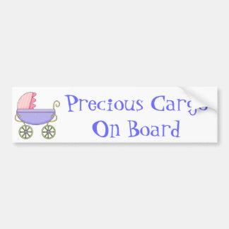 Adhésif pour pare-chocs doux de bébé de boguet de  autocollant de voiture