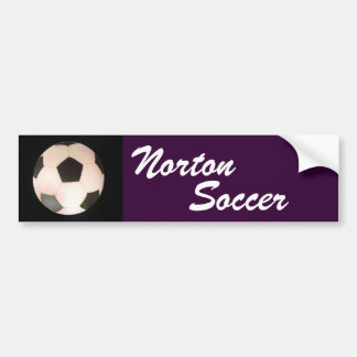 Adhésif pour pare-chocs du football de Norton Adhésifs Pour Voiture