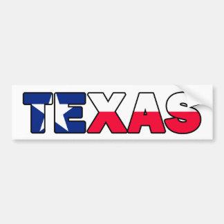 Adhésif pour pare-chocs du Texas Autocollant De Voiture