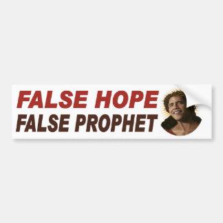 Adhésif pour pare-chocs faux de prophète d'Obama Autocollant De Voiture