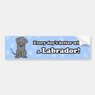 Adhésif pour pare-chocs mignon de Labrador de band Adhésif Pour Voiture