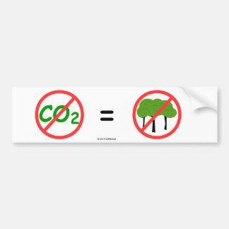 Adhésif pour pare-chocs Pro-CO2 Autocollant De Voiture