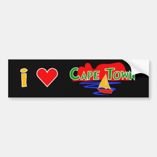 Adhésifs pour pare-chocs de Cape Town d'amour de Autocollant De Voiture